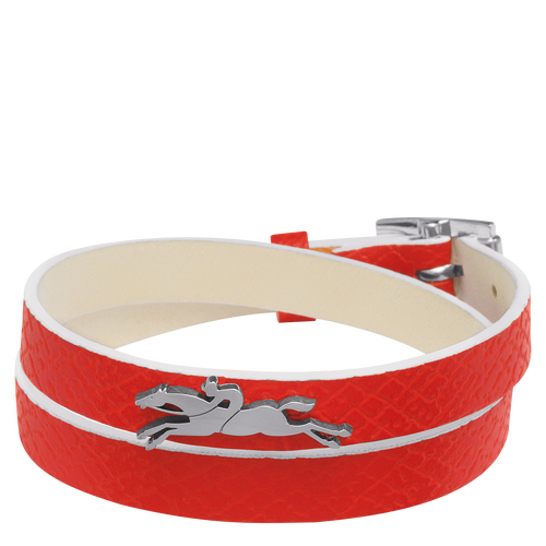 Doppeltes Armband, 608 Zinnoberrot, hi-res