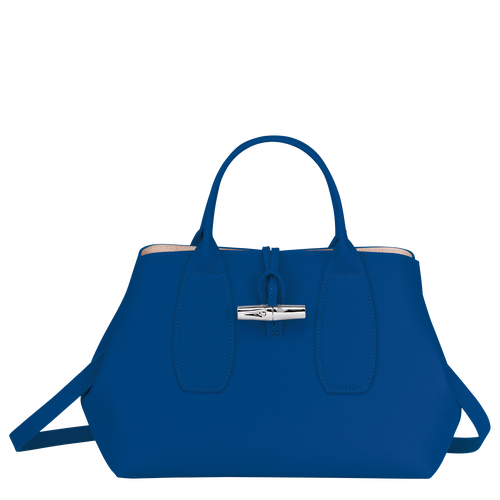 Top handle bag M, Blue - View 1 of  4 -