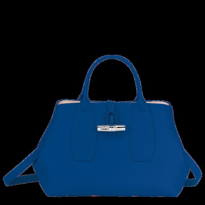 Top handle bag M, Blue - View 1 of  4 - zoom in
