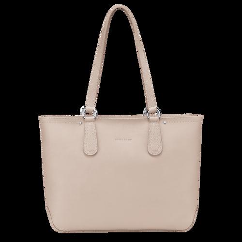Zipped shopping bag, Buff - View 1 of  3 -