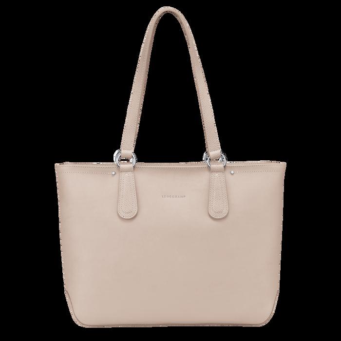 Zipped shopping bag, Buff - View 1 of  3 - zoom in