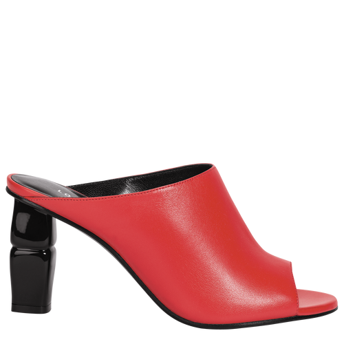 View 1 of High-heel mules, Poppy/Ruby, hi-res