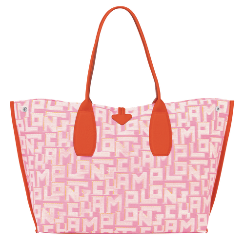 Sac shopping XL, Rose, hi-res - Vue 3 de 3