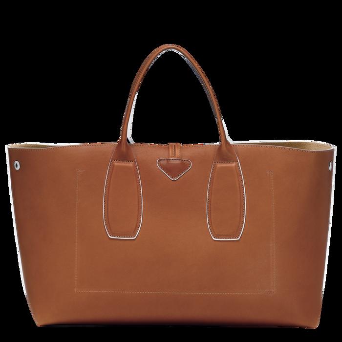Top handle bag L, Cognac, hi-res - View 4 of 5