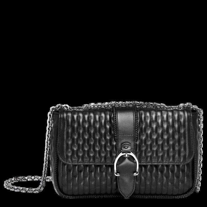 Crossbody bag M, Black/Ebony - View 1 of  3 - zoom in