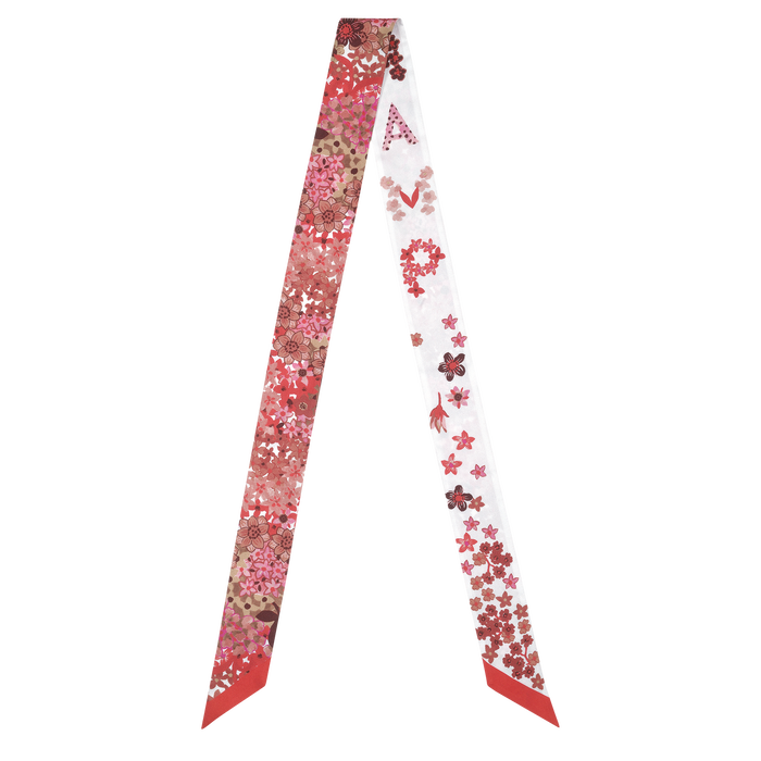 Fall-Winter 2021 Collection Silk ribbon, Red Kiss