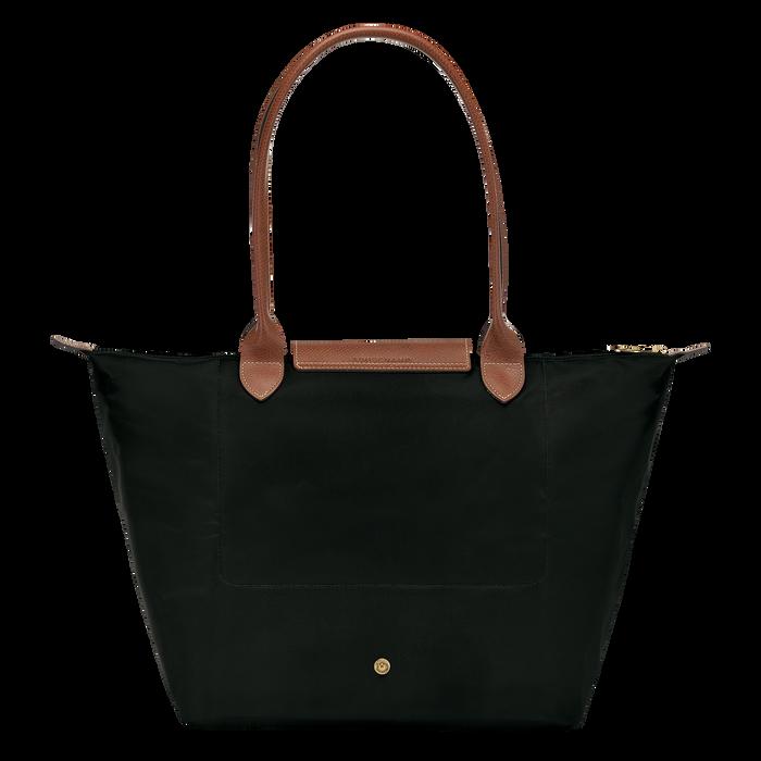 Shoulder bag L, Black/Ebony - View 3 of  4 - zoom in