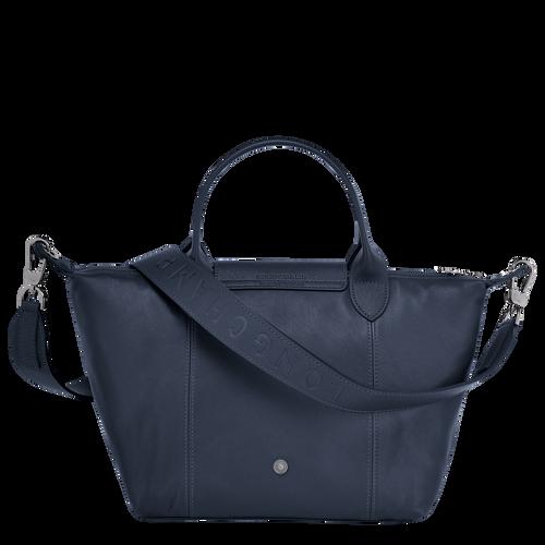 Top handle bag S, Navy - View 3 of  5 -