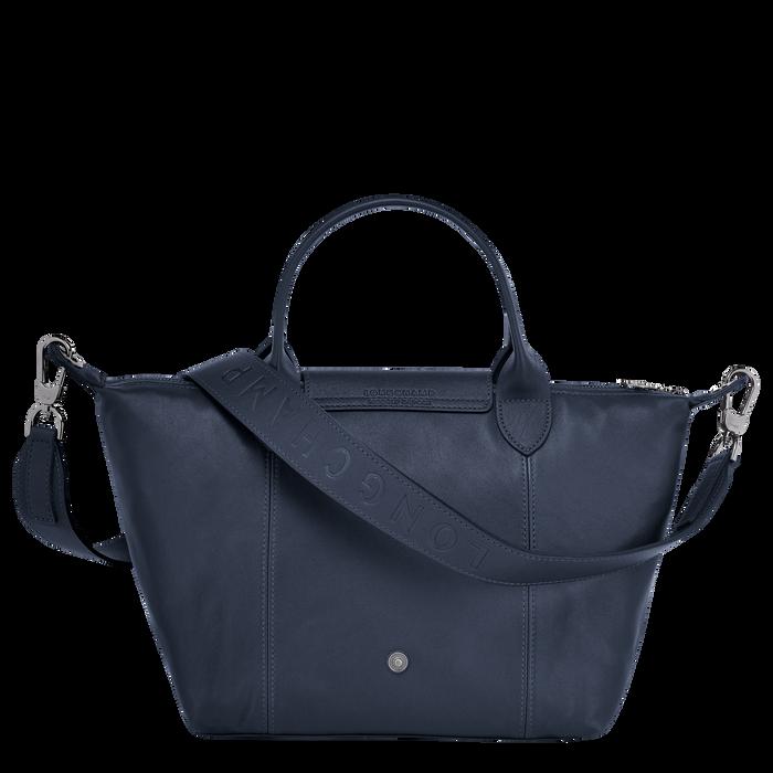 Top handle bag S, Navy - View 3 of  5 - zoom in