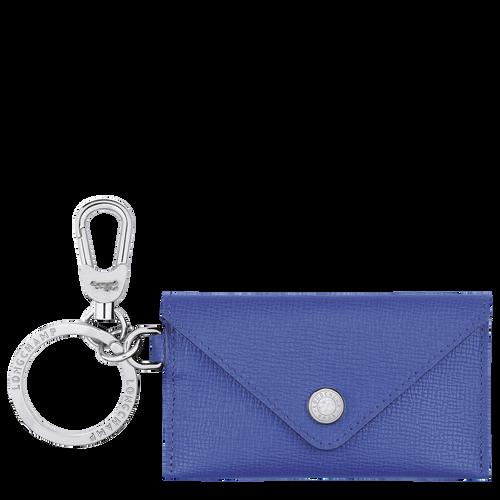 Le Pliage Néo Envelope key ring, Blue