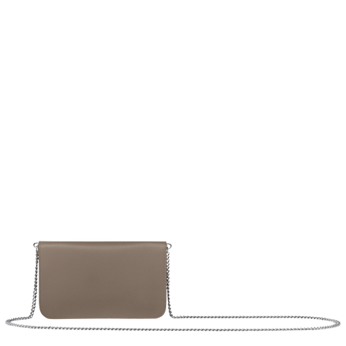 Wallet on chain, Taupe - View 3 of  3 -