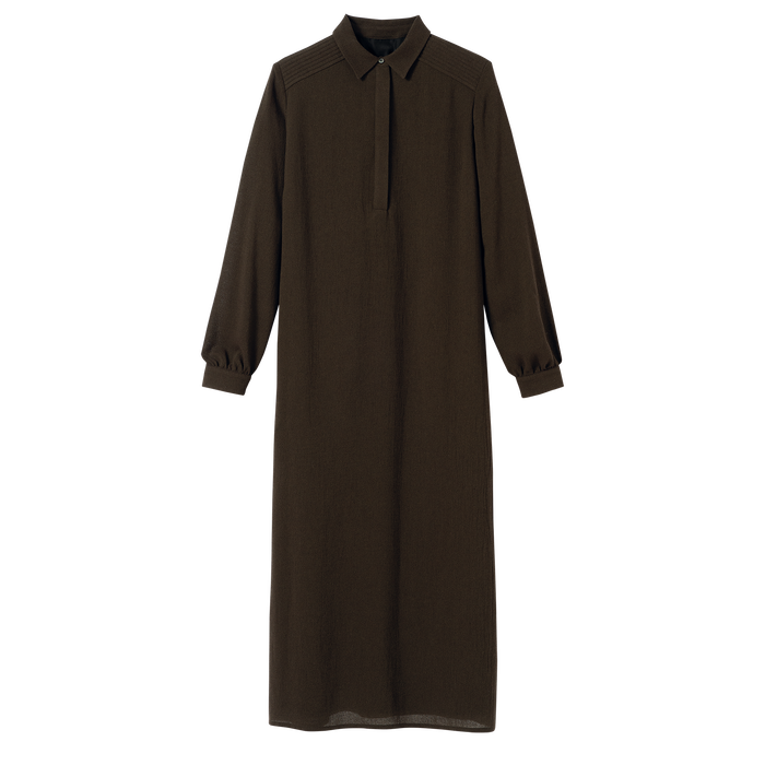 Fall-Winter 2021 Collection Long dress, Khaki