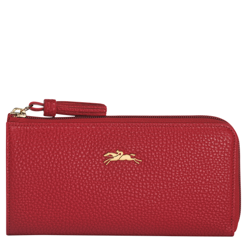Zip around wallet, 545 Red, hi-res