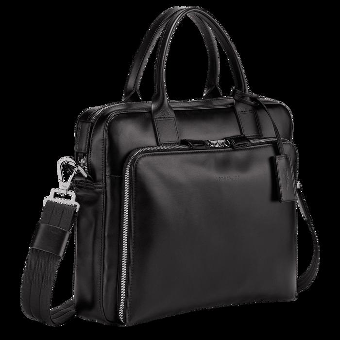 Briefcase S, Black/Ebony - View 2 of  3 - zoom in