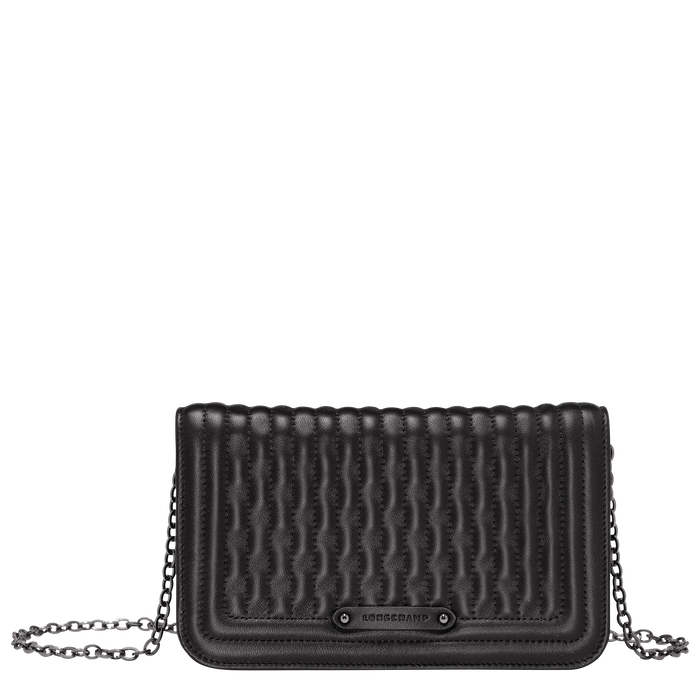 Wallet on chain, Black/Ebony - View 1 of  3 - zoom in