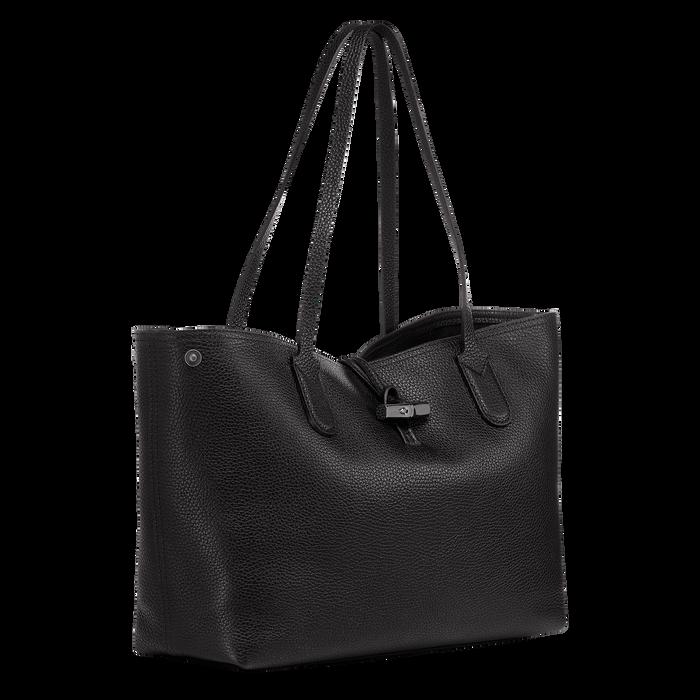 Roseau Essential Sac porté épaule, Noir