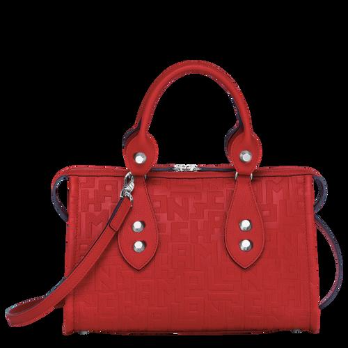 Top handle bag, Burnt Red, hi-res - View 1 of 3