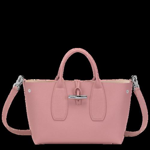 Top handle bag M, Antique Pink, hi-res - View 2 of 4