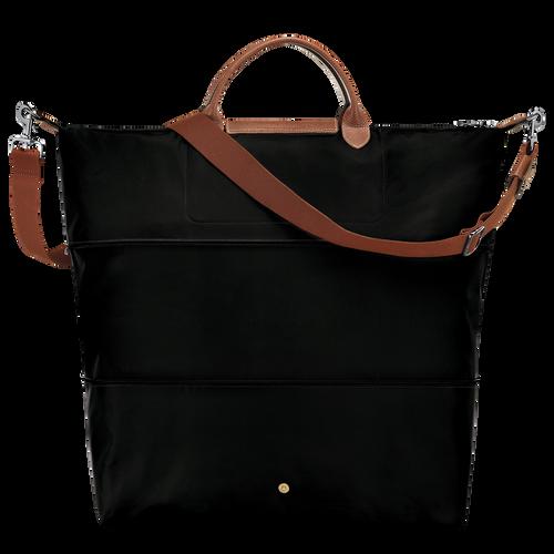 View 3 of Travel bag, Black, hi-res