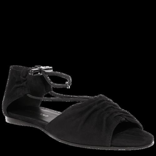 平底涼鞋, 黑色, hi-res - 2 的視圖 3