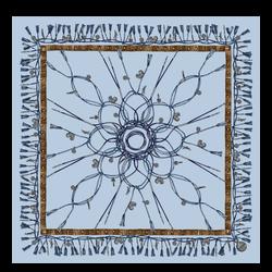 Pañuelo de seda, 087 Azul báltico, hi-res