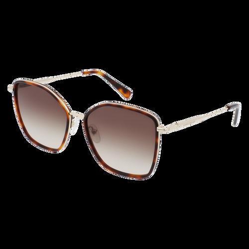 Glasses Sunglasses, Gold Khaki