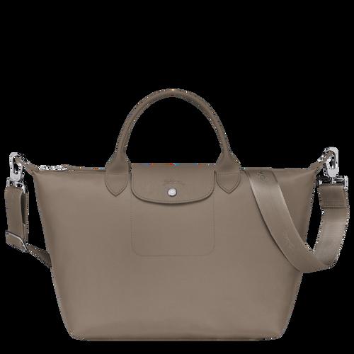 Top handle bag M Le Pliage Néo Taupe (L1515598215) | Longchamp US