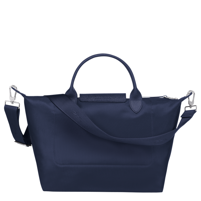 Top handle bag M, Navy - View 3 of  5 - zoom in