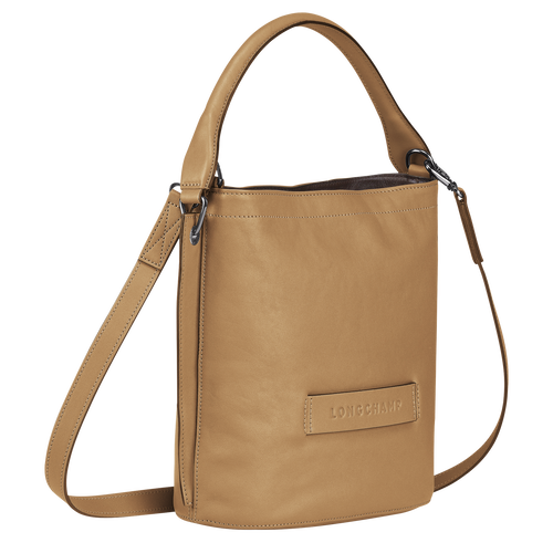 Longchamp 3D Crossbody bag, Cumin