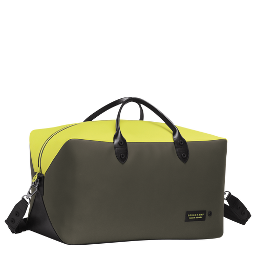 View 2 of Travel bag, Neon/Khaki, hi-res