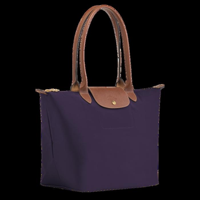 Sac porté épaule L Le Pliage Original Myrtille (L1899089645) | Longchamp FR