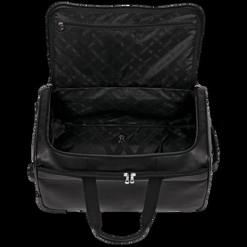 Reisetasche mit Rollen, Schwarz - Ansicht 3 von 3 -