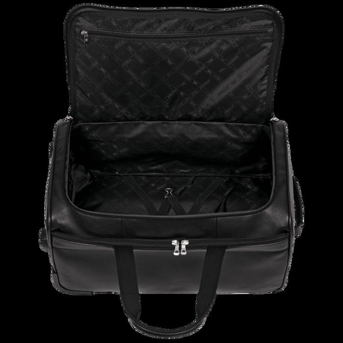 Reisetasche mit Rollen, Schwarz - Ansicht 3 von 3 - Zoom vergrößern