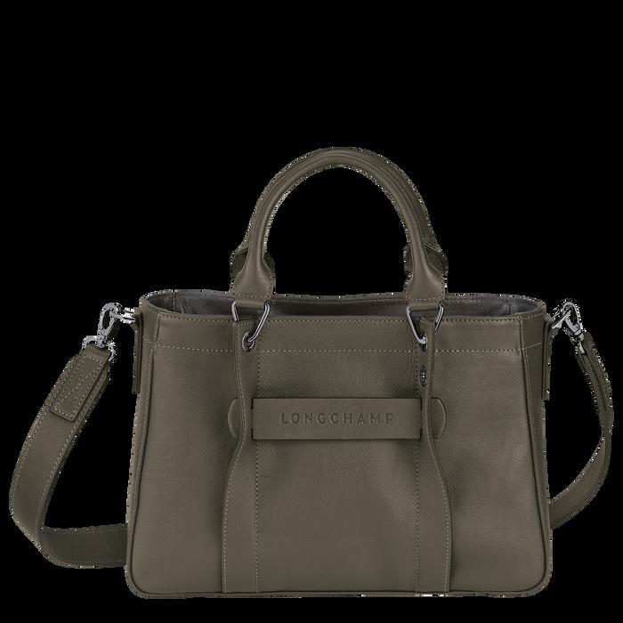 Longchamp 3D Top handle bag S, Khaki