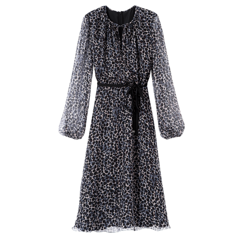 Midi dress, Mahogany - View 1 of  2 -