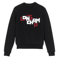 Sweatshirt, 001 Black, hi-res