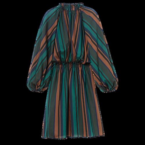 드레스, Longchamp Green - 1 이미지 보기 1 -