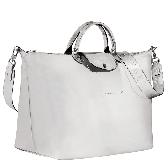 Le Pliage Spring/Summer 2021 Travel bag L, Silver