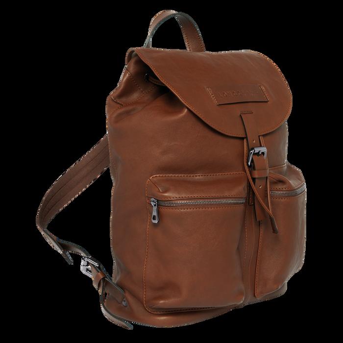 Backpack L Longchamp 3D Cognac (20015773504) | Longchamp GB