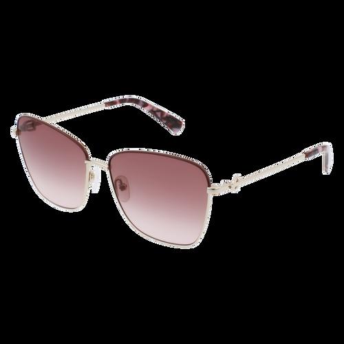 眼鏡 太陽眼鏡, 金色/粉紅色