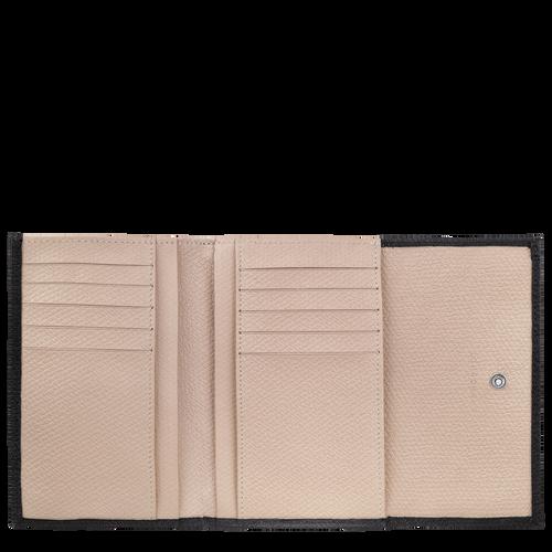 Kleine portemonnee, Zwart/Ebbenhout - Weergave 2 van  2 -