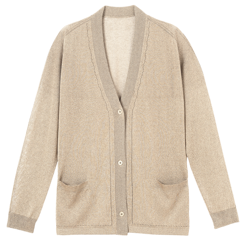 Cardigan, Gold - View 1 of  2 -