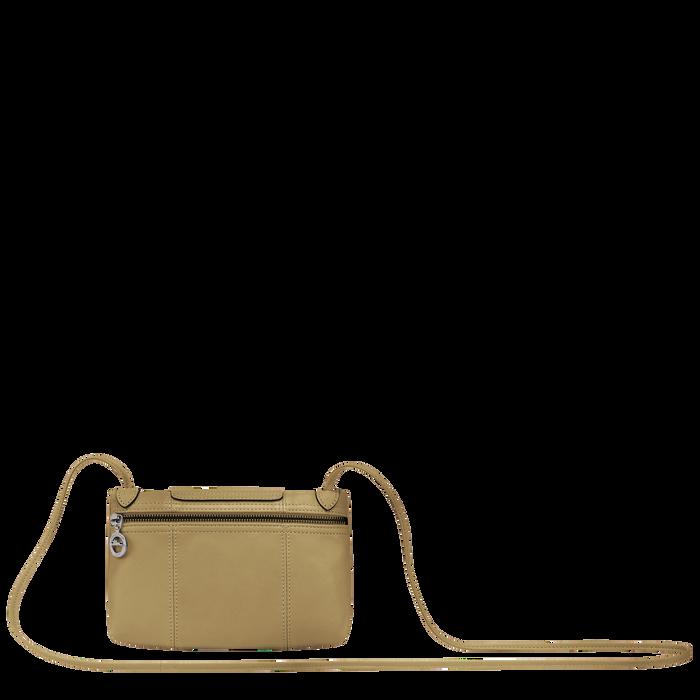 Le Pliage Cuir Crossbody bag, Khaki