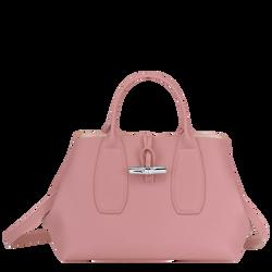 Top handle bag M, Antique Pink, hi-res