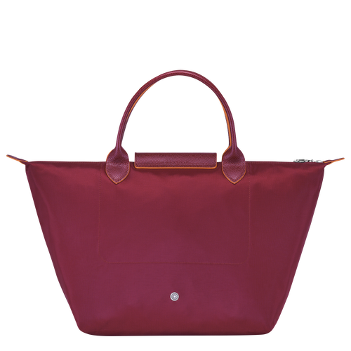 Top handle bag M, Garnet red - View 3 of  7 -