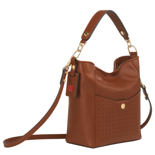 Small bucket bag, Cognac, hi-res - View 2 of 3