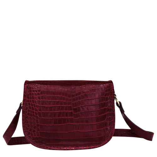Crossbody bag S, Burgundy - View 3 of  3 -