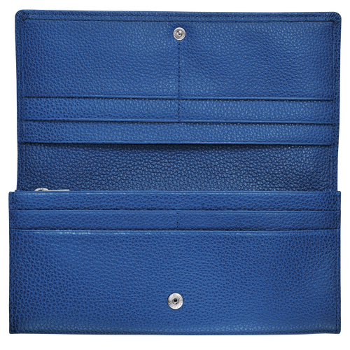 Long continental wallet, Sapphire, hi-res - View 2 of 2