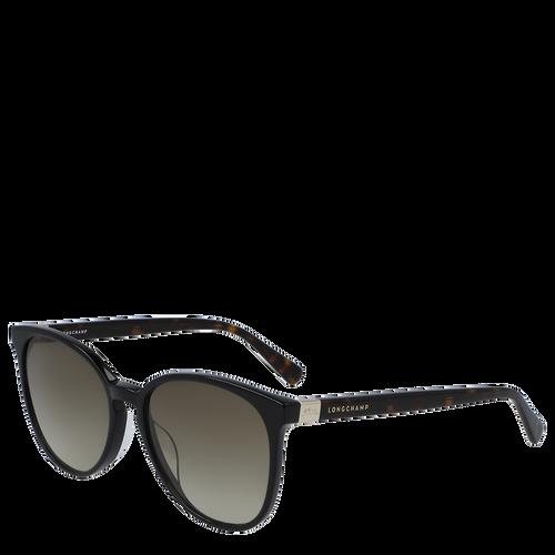 Zonnebril, Zwart geschubd, hi-res - View 3 of 3
