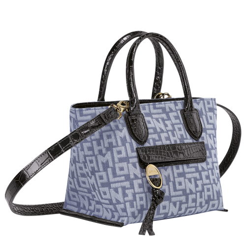 Top handle bag S, Blue - View 2 of 3 -